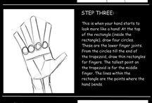 manga hand