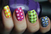 Nails - Polka Dots / by Nancy Rai-Chandra