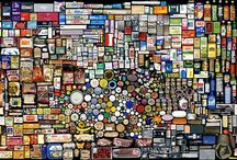 Mind Blowing Arts / We never keep a count of how many products we use in everyday life and throw away the trash. Its is amazing the way Hong Hao accounted for every product he used and discarded using the images he took in complex collages, collected under the title  My Things  ( My Stuff ).