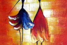 Akrylové malby