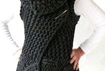 Coletes de tricot