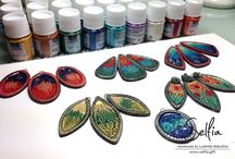 Crafts: Pebeo Prisme Fantasy paints