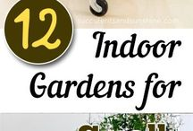 Creative Indoor Garden Spaces | JennaBenna & Co