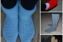 crochet slippers/socks