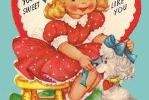 Vintage Children's Valentine Cards / I love vintage ephemera! At the heart of my obsession (pun intended) are vintage valentine cards from the 1960's-1980's!