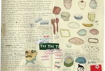 Sketchbooks merveilleux carnets de note et de croquis