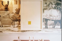 wallcovering / by Reena Pasricha