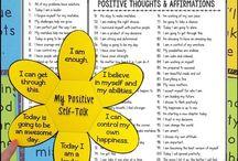 insegnare pensieri positivi