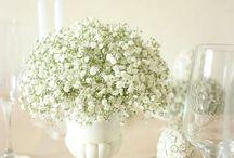 Wedding flowers / 結婚式の花、気になるものを集めました。