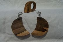 Wood Earring 7 / Wood Earring