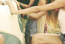 pictures of boho/ hippies