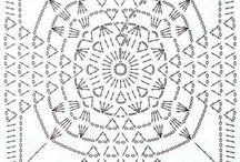crochet - kwadraty