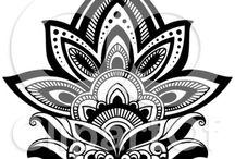 Waterlili tattoo