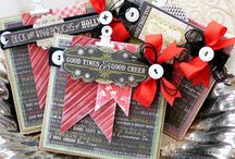 Christmas Cards & Crafts / Paper crafts, cards and more!