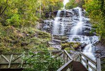 Waterfalls / Waterfalls across Georgia