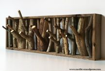DIY Idea: Make a Tree Branch Coat Rack