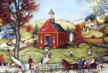 One room schoolhouse  / by Chanin Culbertson-Russell