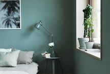 bedroom / green
