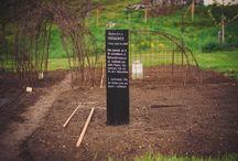 Barnens Trädgård / Barnens egen trädgård på Wij Trädgårdar. Nytt för i år är ABC-trädgården.