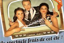 Monsieur Marvelous / Spectacle lancé au théâtre du Temple - Paris - en 2014, toujours en tournée et à Paris. Avec Martial, actuellement candidat à la nouvelle star sur D8