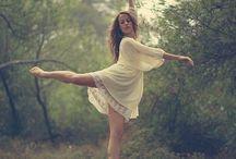Dancing photoshoot