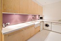 Laundries / Laundries Designed by Paul Hutchison Kitchen Bathroom Design Studios