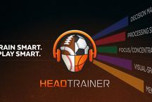 TeamHeadTrainer / HeadTrainer is a mobile app for athletes of all ages and all skill levels, designed to engage and improve cognitive abilities.