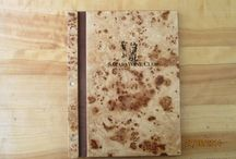 Wooden Menu/Info covers / The best wooden menu/info covers in Africa
