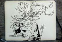 Inspire: Illustrations / illustrations