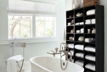 Bathroom Bliss / All about Bathrooms. I currently live in a house where the master  bathroom is big enough to turn in a small circle. No counter space, crappy storage. If we stay in this house there will be a remodel.  / by Alexis Cancio