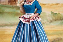 kleertjes voor Barbie / patronen poppen kleertjes
