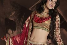 Designer Lehenga / Jugniji.com : A huge sparkling collection of Indian ethnic wear in our attention-grabbing online showroom whose variety is growing every month.