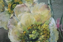Claire Basler Paintings / Wonderfully majestic flower paintings
