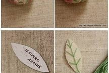 Cross stitch and pincushion / by Ferny Hecho A Mano