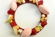 desserts à l'assiette fruités