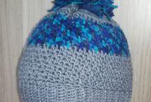 CROCHET HATS- my work