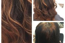 Free hand technique ! / ... freehand highlighting technique that hair colorists use to paint on the color to make it look more natural (it also grows out more seamlessly compared to foil highlights). So, if you want to switch up your hair hue and go subtly lighter for fall at trends urban salon we can help you to choose the right technique!... By Zaneta Kapuscinska
