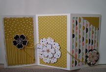 carteries / voici les cartes que j'ai crées