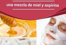 miel y aspirina