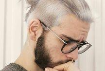 white hairs