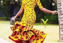 African Inspired Wedding Dress