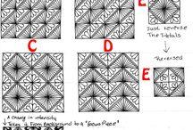 Složité Kreslené Vzory