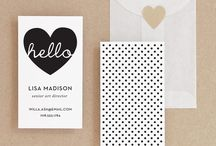 Business Stationery/Ideas / Ideas to use on my business / by Michelle Last Stampin' Up! Demo