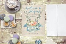 Rustic Save The Date Cards for Rustic chic weddings #RusticChicWeddings #RusticChic