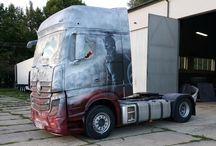 Airbrush truck