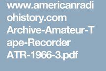 vintage tape recorders