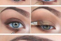 Maquillage / Maquillage des yeux et lèvres