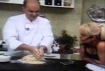 Videos antigos de culinária do Programa  Note e  Anote