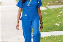 Stylish Scrubs / Nurses should look cute too!
