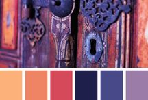 Precedents - Colour palettes